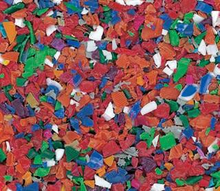 Gerecyclede plastic doppen