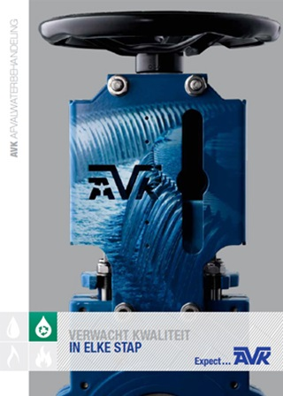 AVK Nederland afvalwater brochure