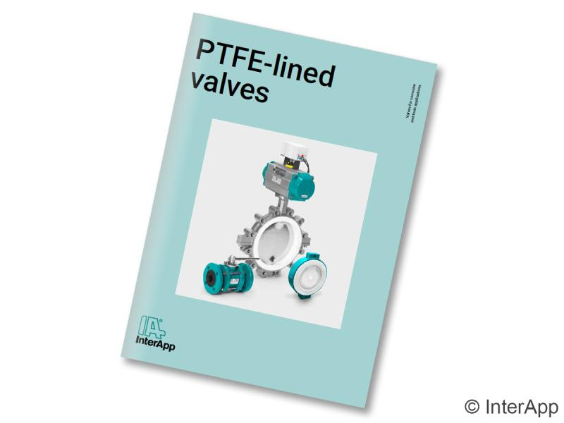 InterApp PTFE lined valves