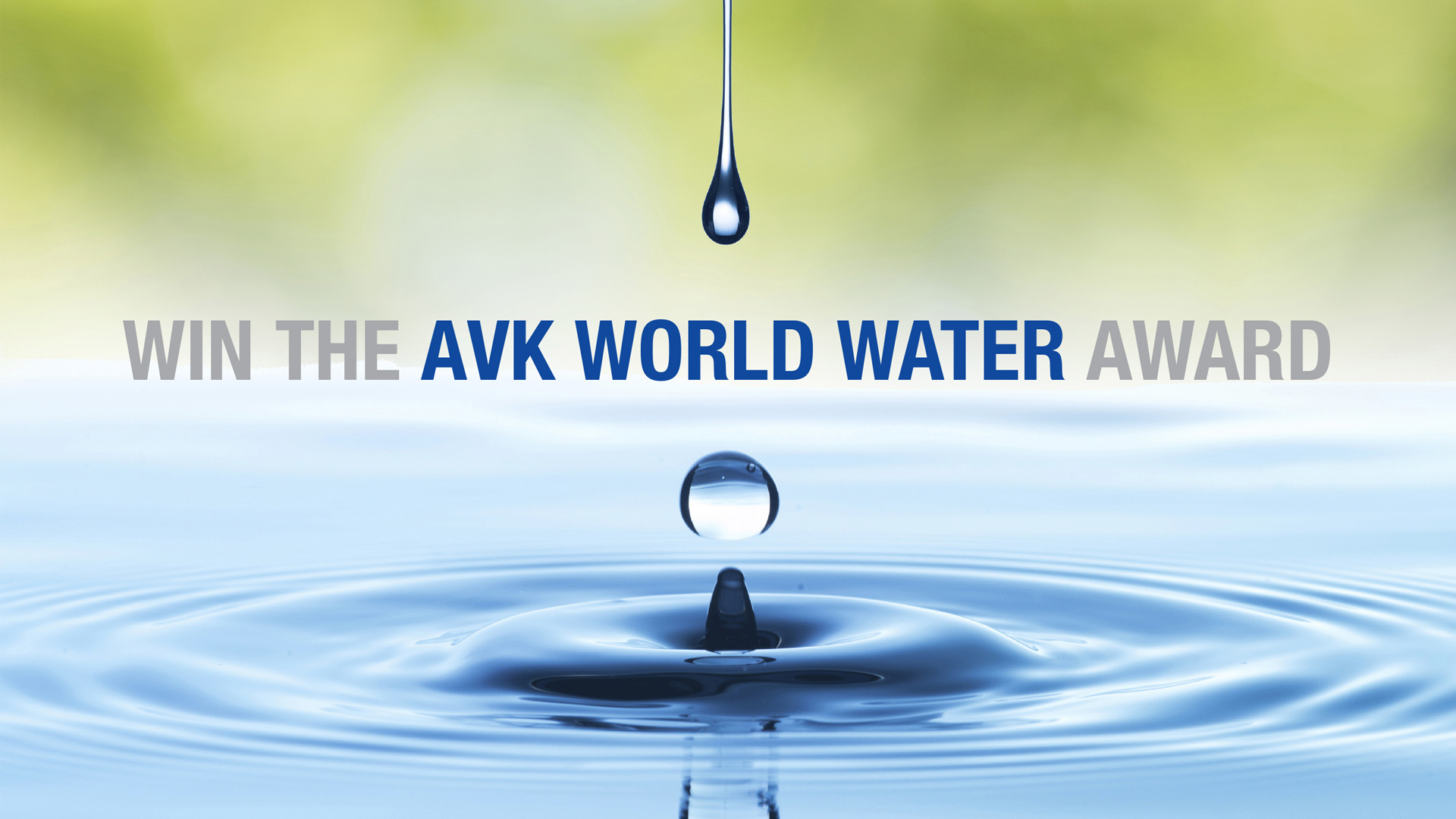 AVK World Water Award